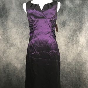 NWT! Shimmery purple cocktail dress